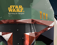 Star Wars VI - Illustration & DVD Cover/Menu