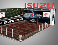 ISUZU's 3D Exhibition Booths