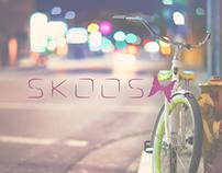 SKOOSHI - Free Startup Logos - 5 step project