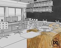Line by Line Creative - Studio Build