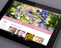 E-commerce : Floral Theme