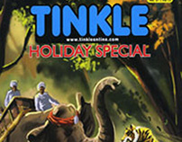 Tinkle Holiday Special_Digital Inking