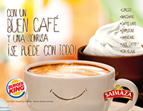 Cartel Burger King / Saimaza
