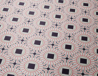 Seamless Geometric Line Pattern