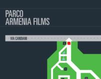 Armenia Film - Segnaletica per un parco