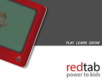 redtab- kids tab concept and design