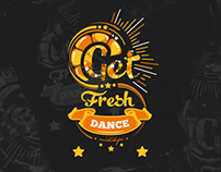 GetFresh Dance Workshops t-shirt design and ad