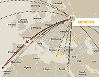 Nordwind Airlines Route Map