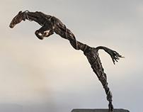 The artist's horse, 2013