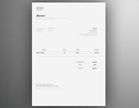 Invoice Template | Free AI