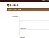 Lehigh University Open Entry Form