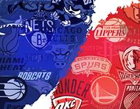 NBA Playoffs | Vector Artwork