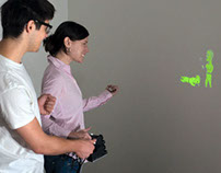 SideBySide: Collaborative Mobile Projectors