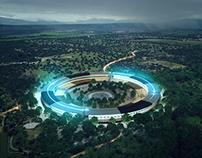 Apple Campus II  re-visualization