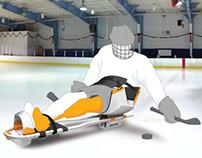 Adaptive Hockey Sled