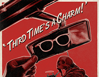 Third Time's a Charm - Gig Poster