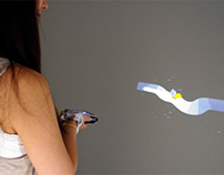 MotionBeam: Interactive Mobile Projectors