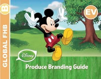 Cover Design of the Disney Fresh Produce Branding Guide