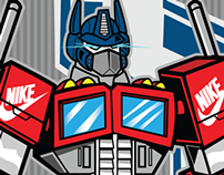 Optimus Prime x Supreme