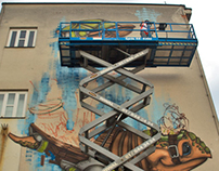 Making of the Mural!