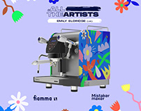 #AllTheArtists for Fiamma Espresso