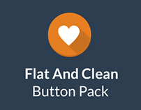 Flat And Clean Button Pack