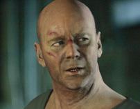 Bruce Willis Portrait - March 2011