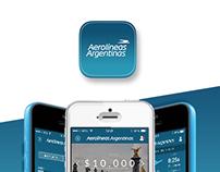 Aerolineas Argentina - iPhone App