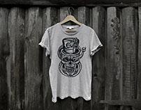 Snakebite, t-shirt design