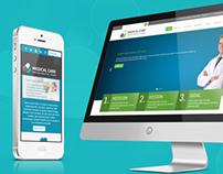 Responsive medical website