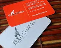 B. OYAMA Business Card
