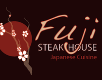 Menu Design - Fuji Steakhouse