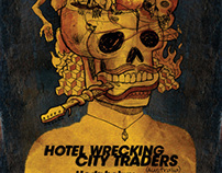 Hotel Wrecking City Traders + Hedphelym + The Civil Gua