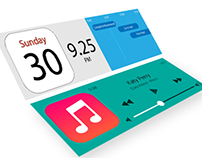 iOS 8 Notification Card Concept