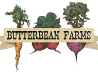 Butterbean Farm branding