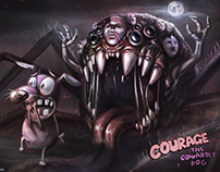 Courage the cowardly dog -The movie