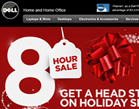 Dell 8-hour Holiday Sale