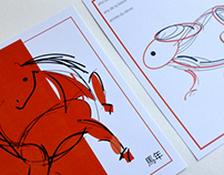 Illustrations for Year of the Horse and Hare
