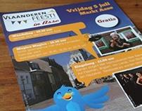 Promotie Vlaanderen Feest! 2013