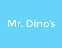 Mister Dino's Splash Page