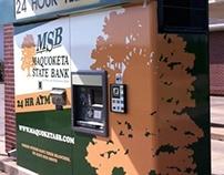 Maquoketa State Bank ATM wrap