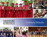 Davenport Public Schools brochure and folder