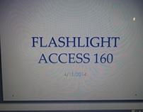 Flashlight designed for a PrivatePilot  Access160