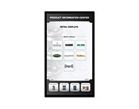 ATK, tradeshow touchscreen