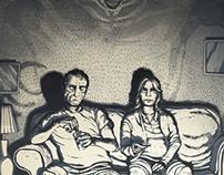 An illustration for Kurt Vonnegut's Harrison Bergeron