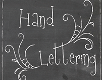 Hand Lettering Book