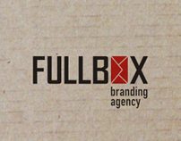 FULLBOX branding agency (graphic set)