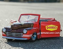 Pancake Car Wrap