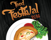Food Festival Offer Poster/Flyer