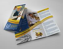 Construction Company Brochure Tri-Fold Vol.2